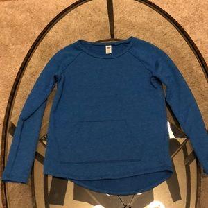 Girls Blue sweatshirt